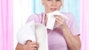 hausstaubmilben niessen